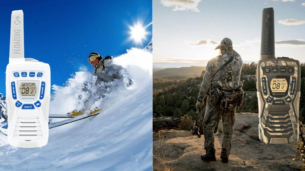 cobra walkie talkie for skiing