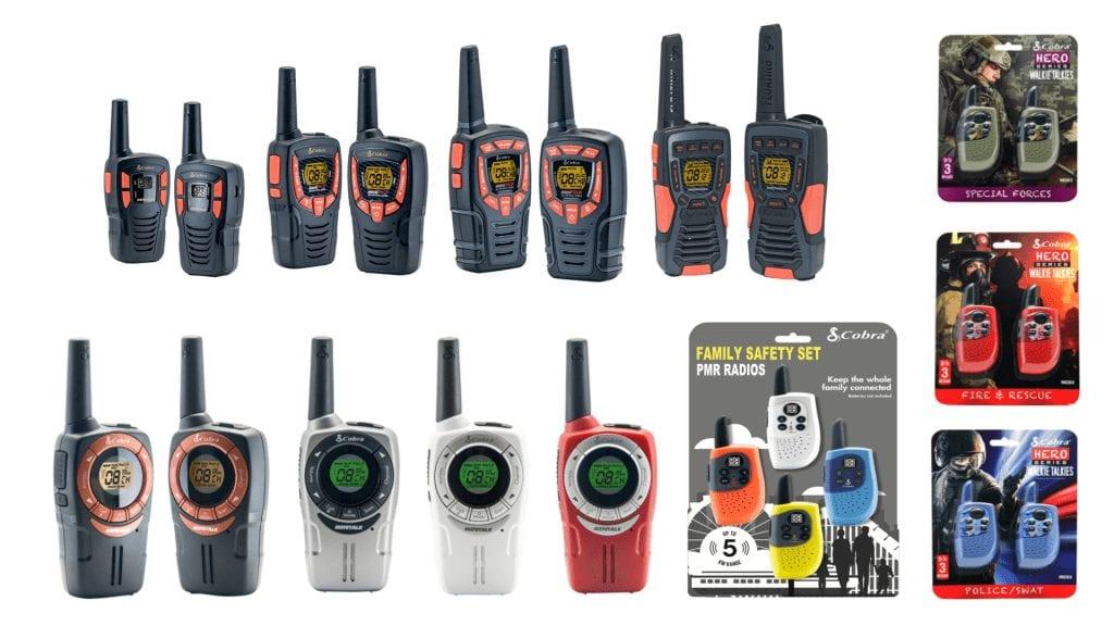 range of cobra electronic products